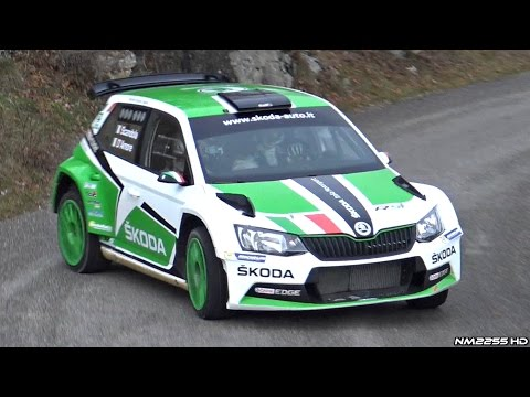 Skoda Fabia R5 Rally Car In Action - Turbocharged 1.6 4-Cylinder Engine Sounds!