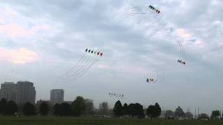 An amazing performance by the Windjammers Kite Team