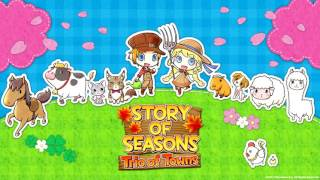 Story of Seasons: Trio of Towns OST - Tsuyukusa [HQ Line-in Rip]