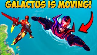 *NEW* GALACTUS IS MOVING!! - Fortnite Funny Fails and WTF Moments! #1101