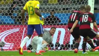 World Cup 2014 - Germany vs Brazil Semifinals All Goals