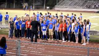 Immanuel High School Reedley, CA Choir Star-Spangled Banner 09/21/12