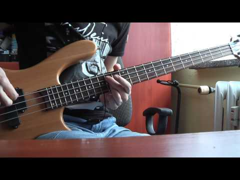 The Racounters - Steady as she goes [bass cover]
