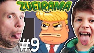 ET BILÚ E TRUMP NA AREA 51 | Zueirama #9 (Gameplay em Português PT-BR) #Zueirama