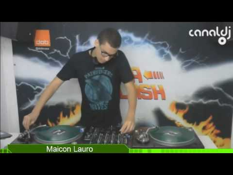 DJ Maicon Lauro - Funk 80 - Programa Sexta Flash - 24.03.2017