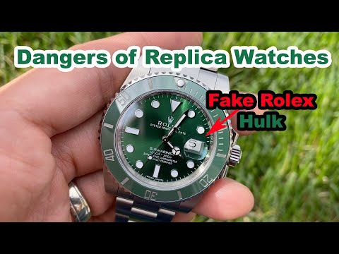 Someone Sold Me A Replica As A Genuine Watch - Rolex Submariner 116610LV A.K.A. Hulk