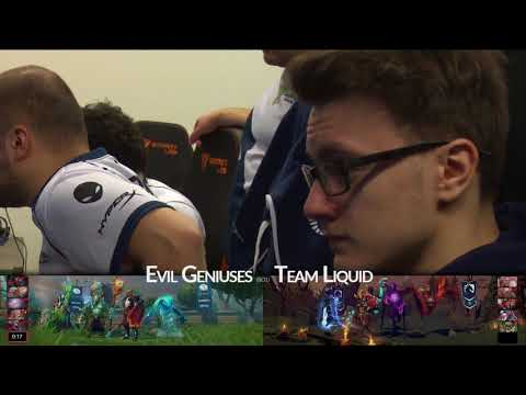 The Bucharest Major Swiss Group Stage R2 - Evil Geniuses vs Liquid