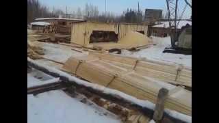 обрезная доска на экспорт из Свердловской области (г.Серов)
