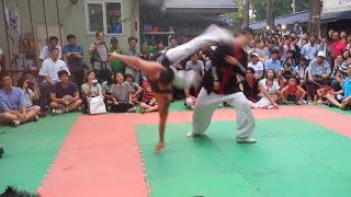 Capoeira vs Taekwondo - Real Fight - part 2
