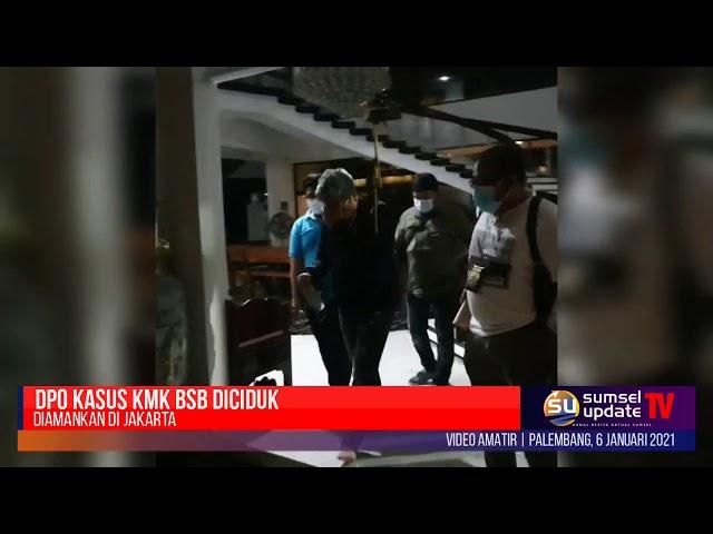 Tim Intelijen Kejaksaan Agung RI Bersama Tim Kejati Sumsel Amankan DPO Kasus KMK BSB