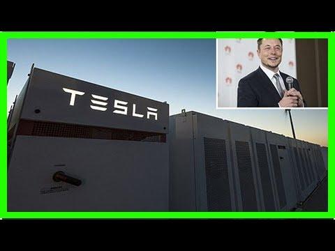 Tesla completes construction of world's biggest battery in australia | FishNews