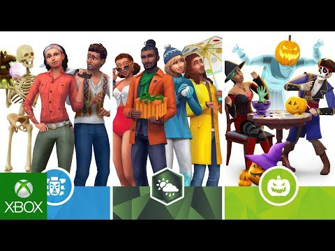 The Sims 4 Console Bundle: Seasons, Jungle Adventure, and Spooky Stuff thumbnail