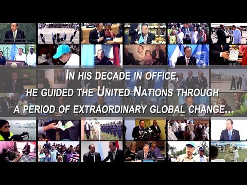 Ban Ki-moon -  10 Years Heading the United Nations