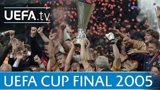 2005 UEFA Cup final highlights - CSKA Moskva-Sporting Lisbon