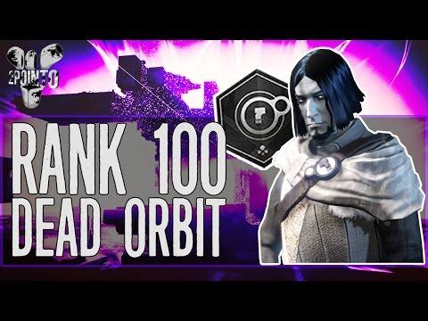 Destiny: RANK 100 DEAD ORBIT - OPENING DEAD ORBIT PACKAGES - RANK 100 FACTION PACKAGES