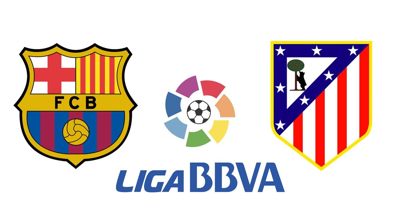 a que hora juega barcelona vs atletico de madrid liga