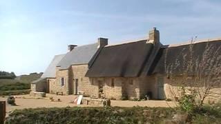 Bretagne,Meneham  ancien village de paysans pécheurs goémoniers.