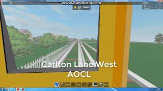 ROBLOX: Foxton and Area 2017: Foxton Docks to Lincoln Park and back cab ride, with extra.