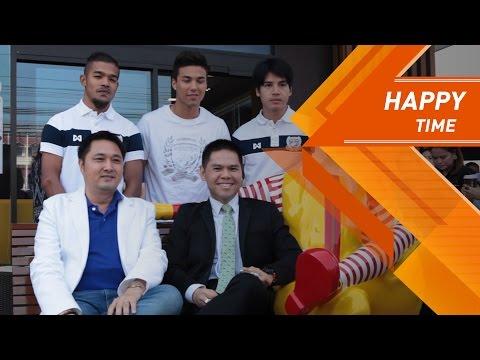 SuphanFC TV |  ทีมสุพรรณบุรี เอฟซี ร่วมแสดงความยินดี งานเปิดแมคโดนัลด์ สาขา ปตท หลักเมือง |  HD