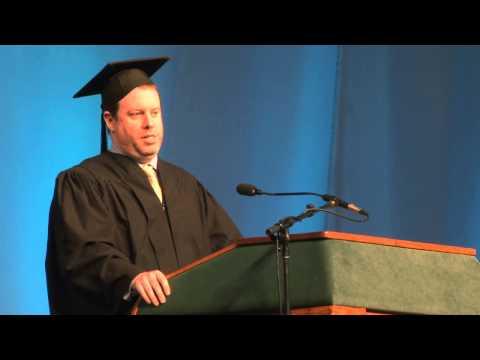 Binghamton University Commencement Spring  - Dave Penski Alumni Award Recipient