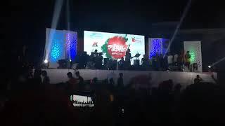 Shei tumi live stage concert @ Bheramara college, 2017- performance