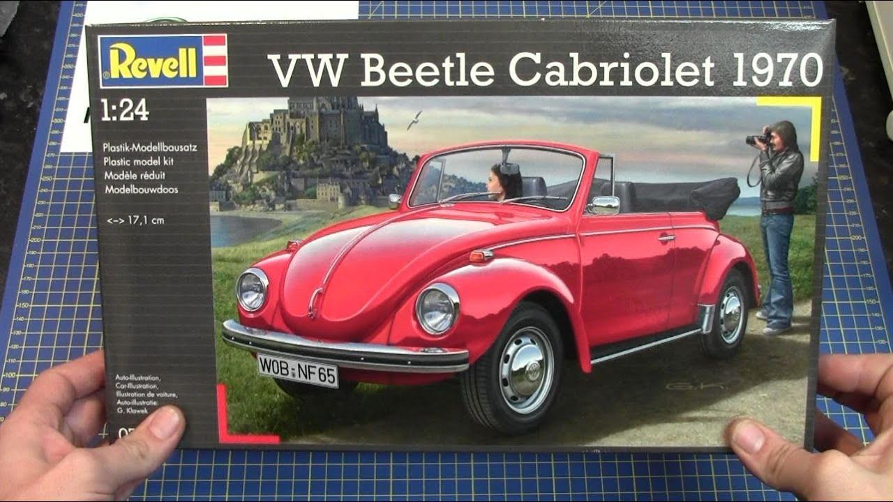 Revell 1 24 Vw Beetle Cabriolet 1970 07078 Www Emodels