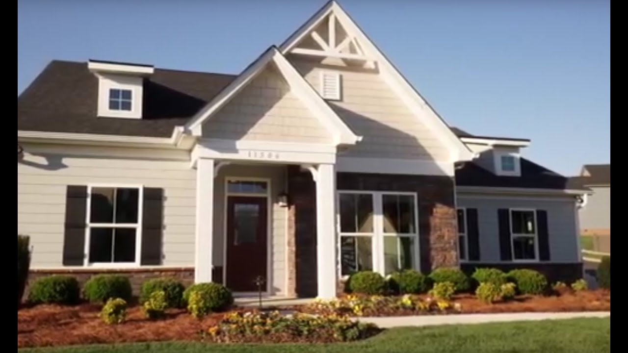 Ryan homes the winterbrook model youtube for Homes models and plans