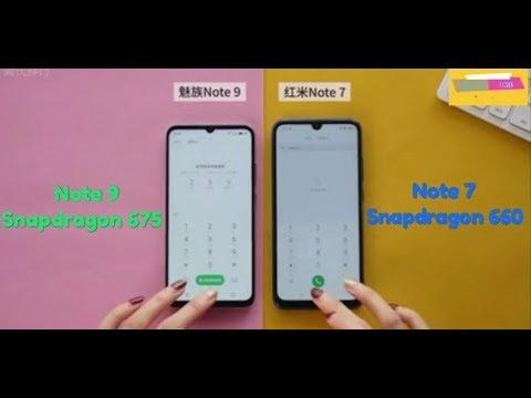 Redmi Note 7 Vs Meizu Note 9 - Speed Test | Snapdragon 675 Vs 660