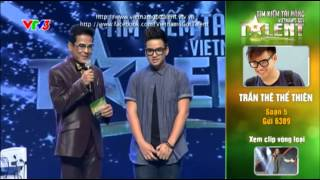 vietnams got talent 2012 - ban ket 7 - tran the the thien - ms 5
