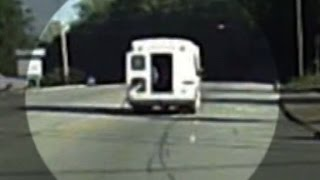 Video shows 4 year old fly out of moving bus