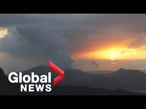 Taal Volcano Eruption Watch In Philippines | Jan. 15