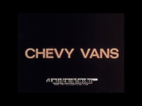 CHEVY CARGO VANS & SUBURBAN  1970s CHEVROLET PROMOTIONAL FILM   HILLS OF SAN FRANCISCO 19314