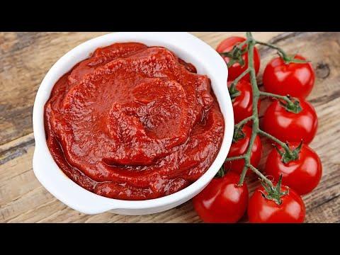 Миняева юлия и Илья Миняев .  Рецепт Густой томатной пасты .  семейные посиделки