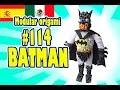 3D Origami modular #114 BATMAN