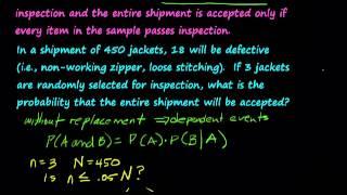Probability: Acceptance Sampling.mp4