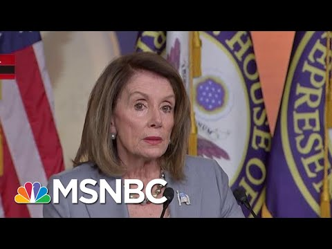 Nancy Pelosi Declares Donald Trump Has 'Triggered A Constitutional Crisis' | Hallie Jackson | MSNBC