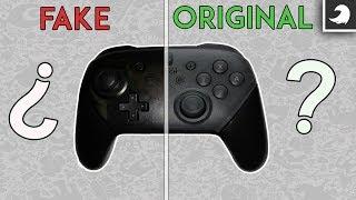 ¿Tu mando Pro de Switch es falso o es oficial? Estas son las diferencias. | Tocby