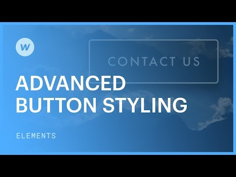 Advanced button styling - Web design tutorial