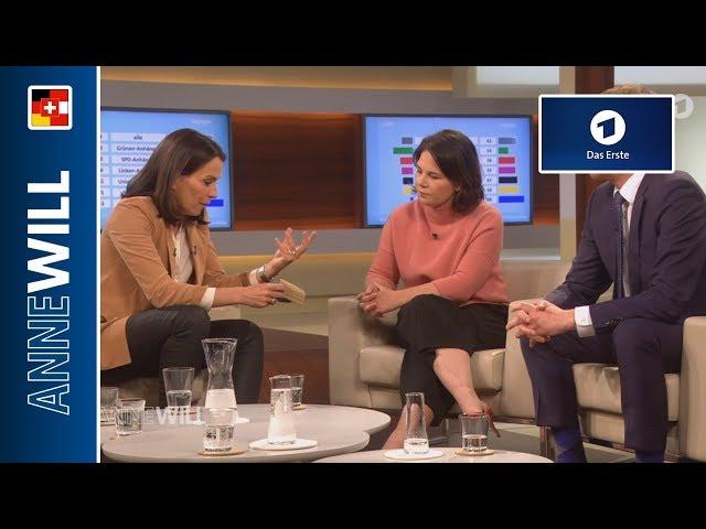 Anne Will - 05.05.2019 - Streit um CO2-Steuer - wer zahlt für den Klimaschutz? (ARD)