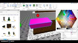 How to make a roblox bush ( ADVANCED AND EASY! )