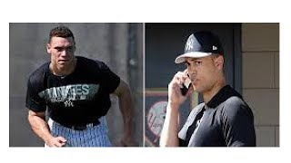Aaron Judge's advice for new teammate Giancarlo Stanton