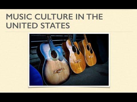 English: Gateway to the World - Week 4: U.S. Music Culture