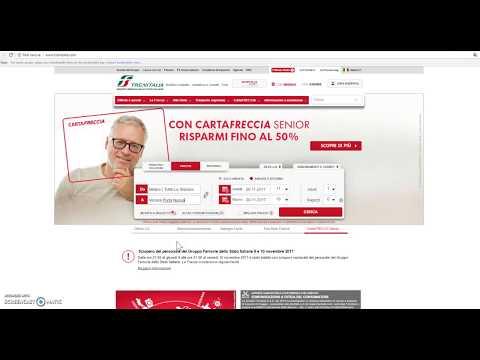 MyBank: esempio d'acquisto su Trenitalia