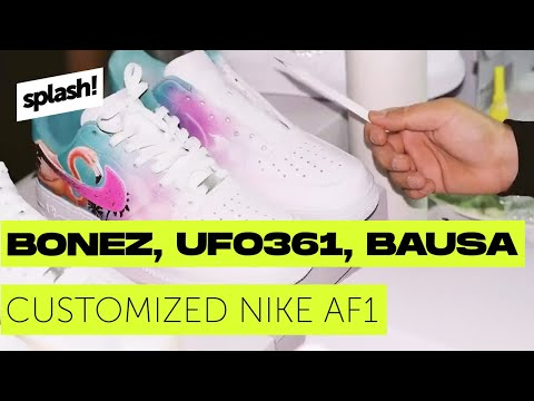 Customized Nike AF1 für Bonez MC, Ufo361 & Bausa (Mini-Doku)
