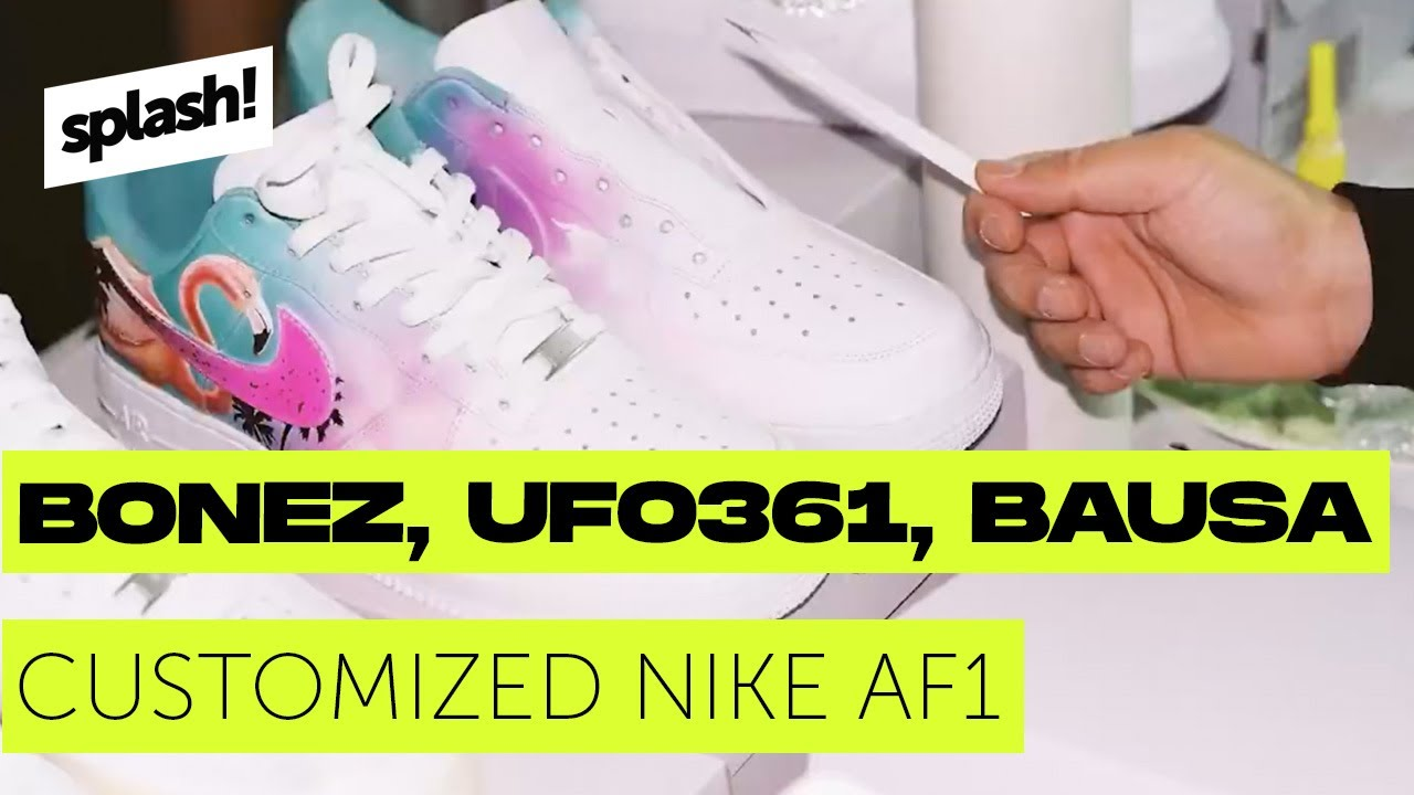 dec7be897f Customized Nike AF1 für Bonez MC, Ufo361 & Bausa (Mini-Doku) - YouTube