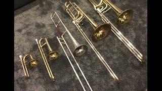 Piccolo Trombone vs. Soprano Trombone vs. Tenor Trombone
