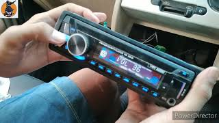 How To Install Car stereo just 10 minutes ||DL rider27 ||car stereo