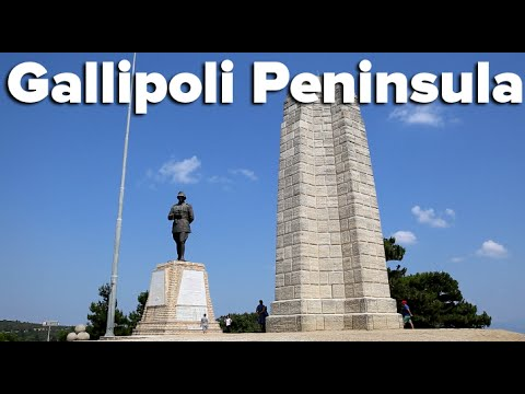 Touring the Gallipoli Peninsula, Turkey