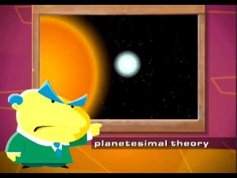 Planetesimal Theory vs Nebular Theory