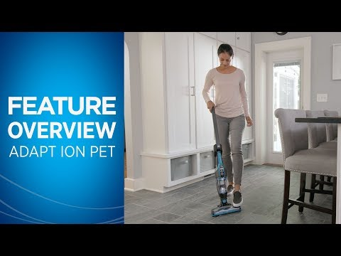 Adapt™ Ion Pet 2-in-1 Cordless Vacuum Overview | BISSELL